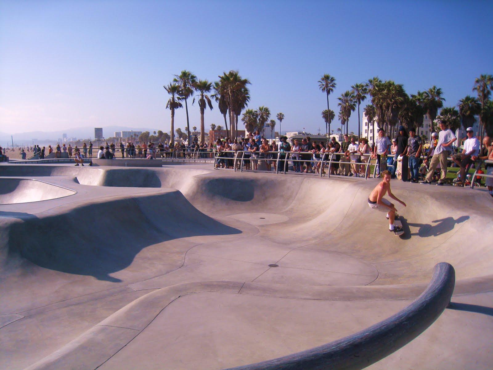 Skatepark Venice Beach Ca