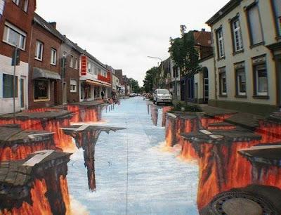 Gambar ilusi 3D yang menakjubkan