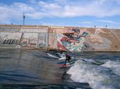 Logan Gogarty River surfer River Surf Lessons check out info at myspace River Surfing