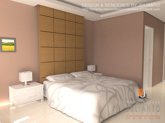 Design Interior Apartment 2 Kamar