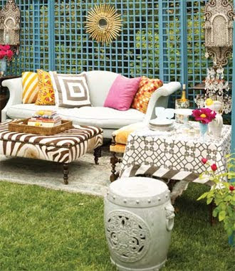 Windsor Smith Backyard Bohemian Style