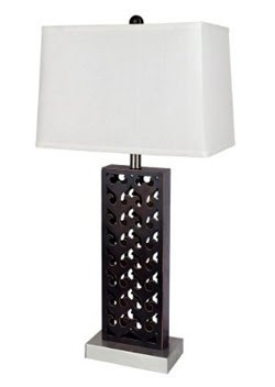 Wood Table Lamp - Brown