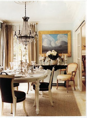 Mary McDonald Traditional Dining Room Design