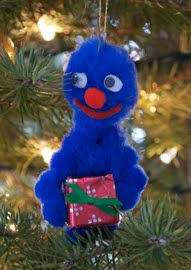 handmade christmas ornaments Grover