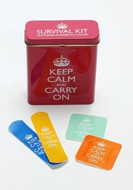 Bandages Keep Calm and Carry On