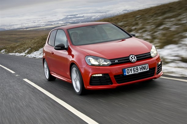 2010 Volkswagen Golf R - front view