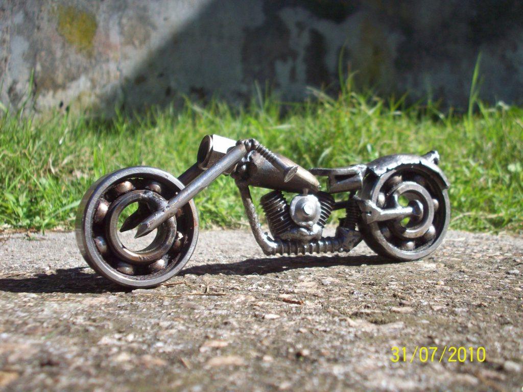 Mis esculturas metaleras para T!