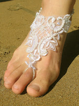 Barefoot Beach Wedding Shoes