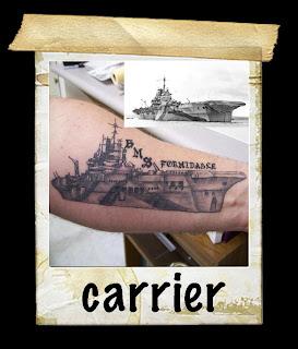 mastermind tattoo aircraft carrier. Black Bedroom Furniture Sets. Home Design Ideas