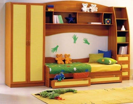 Ещё красивый дизайн детской комнаты