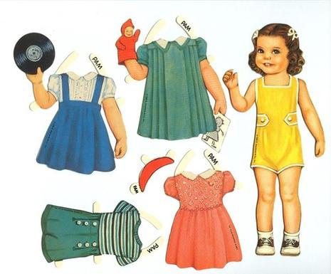 paper doll clothes