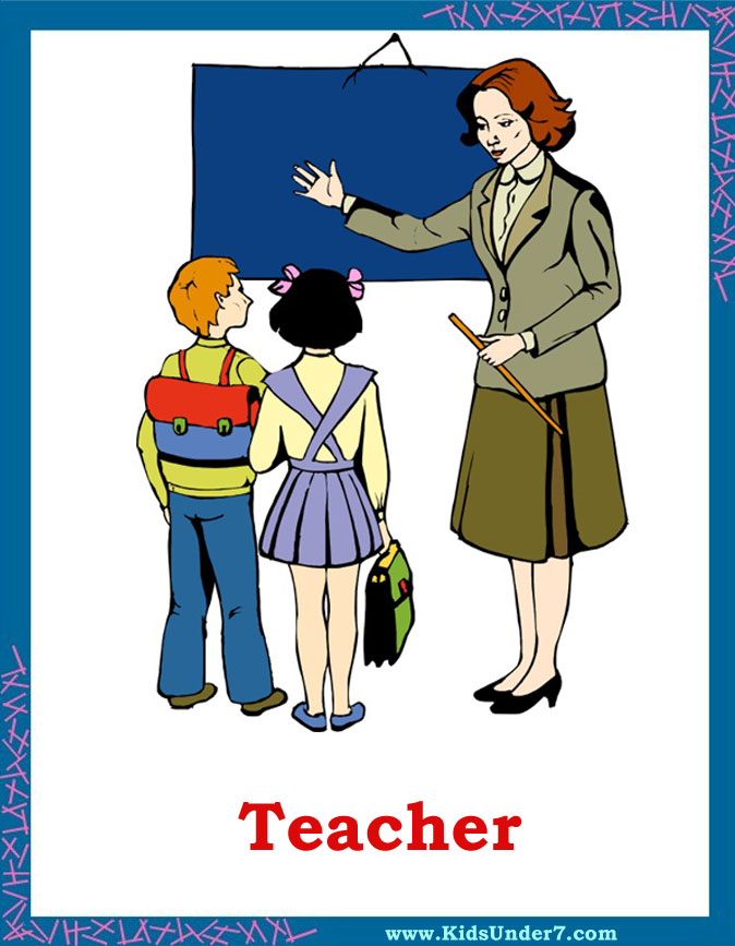 Kids Under 7 Occupations And Jobs Flashcards