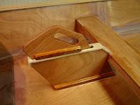 Jimmy Skiff dagger-board Trunk with dagger