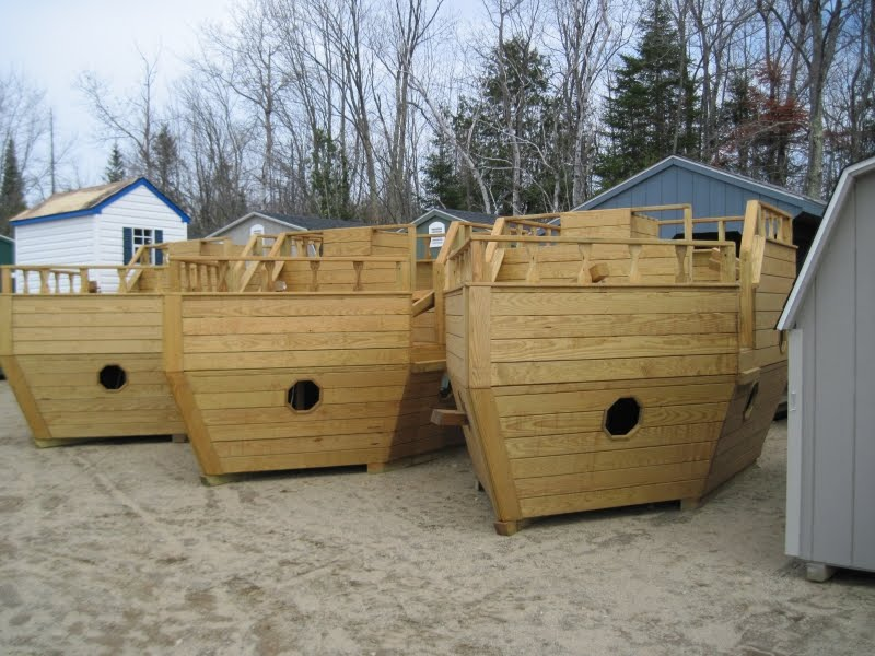 Kids pirate ship playhouse images frompo 1 for Boat playhouse plans
