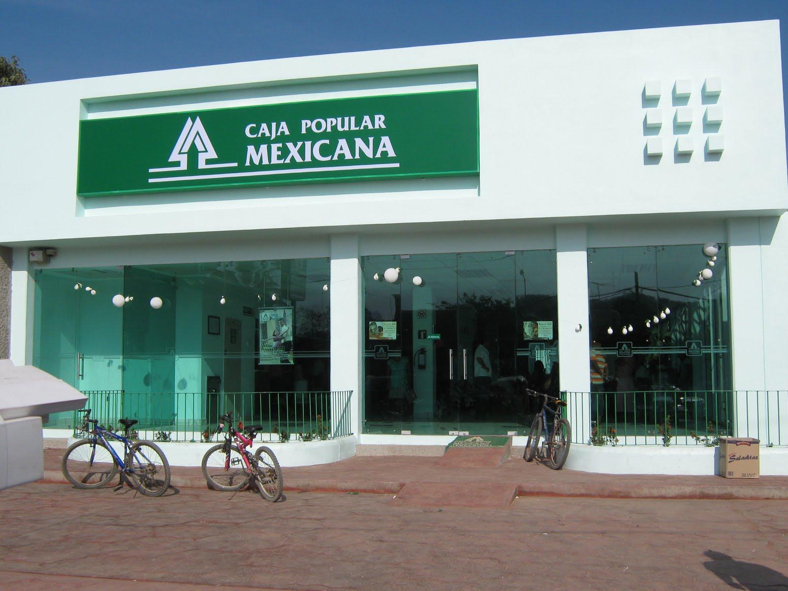 R o grande oax nuevo edificio de caja popular mexicana for Caja de extremadura oficinas