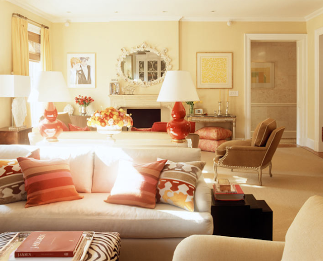 Sense and Simplicity: 10 Paint Colours to Use with Red Accents