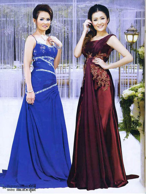 Cambodian clothes picture 6 for Khmer dress for wedding party
