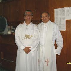 Nuestro Vicario y Diácono permanente.