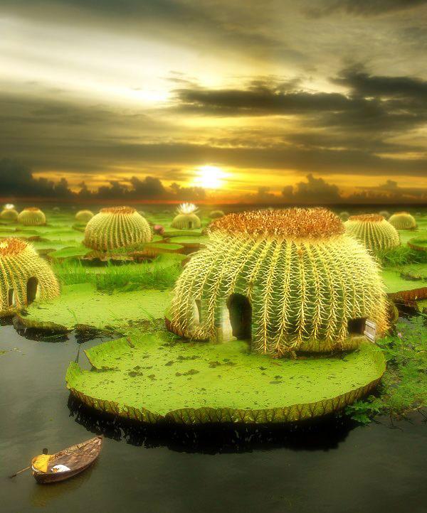 fantastik doğa resmi