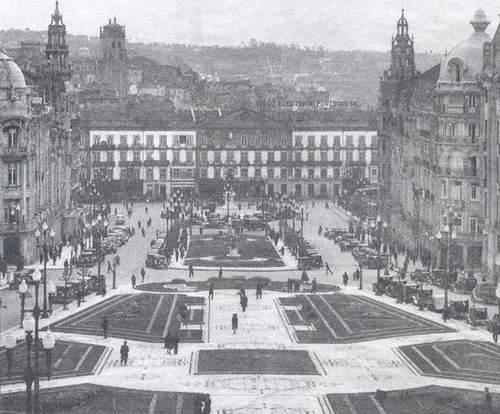 A velha Avenida dos Aliados