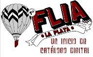 Una premicia de Catalogo Digital de la 1era FLIA en la lata