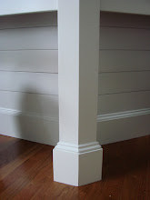 Kitchen Peninsula Leg Detail
