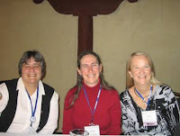 Ellen Walker, Laura Haas, and Janie Irwin at CAPP 2008