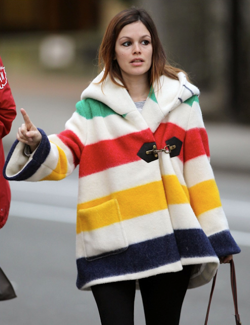 Rachel Bilson in my jacket!