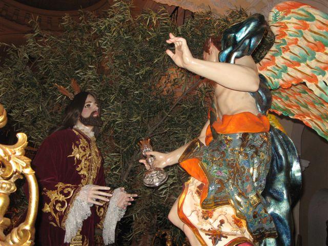 Jesus orando en el huerto