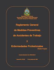 Reglamento General de Medidas Preventivas de Accidentes de Trabajo y Enfremedades Profesion