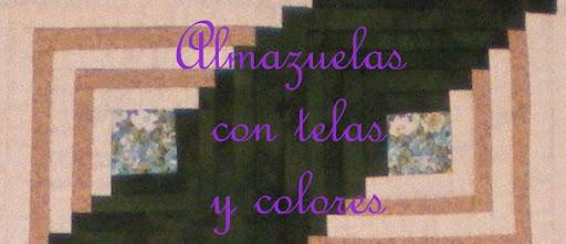 Almazuelas con telas y colores