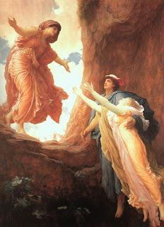 El regreso de Perséfone, Leighton