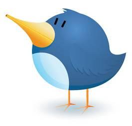 mascote do twitter estilizado