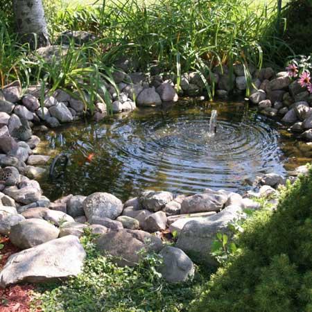 Pond image for Fiberglass garden ponds