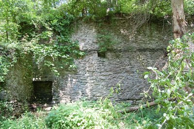Ruins of Livezey Mill.