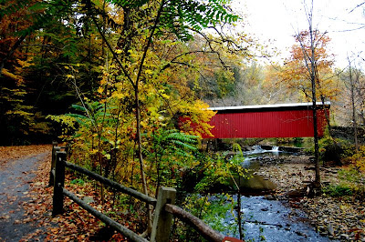 Thomas Mill Covered Bridge.