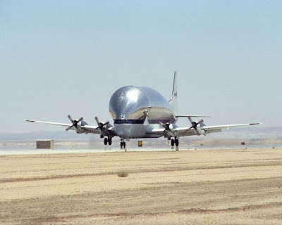 Super Guppy used by NASA image