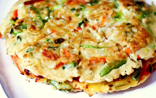 Korean Vegetable Pancakes | Mother's Mementos
