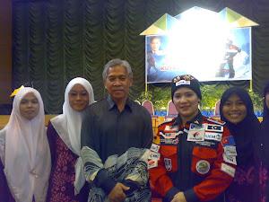 Wif MB Trg n Datuk Sarifah Mazlina