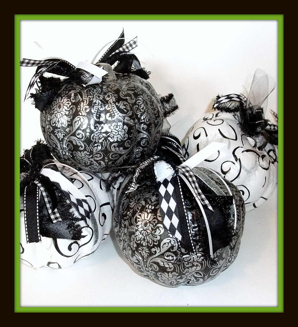 Sister Sally S Shabby Chic Halloween Pumpkins