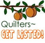 If you're a quiltmaker, get listed....