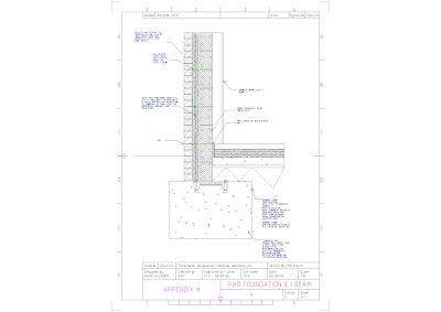 Pad Foundation Drawing Pad Foundation Steel i Beam