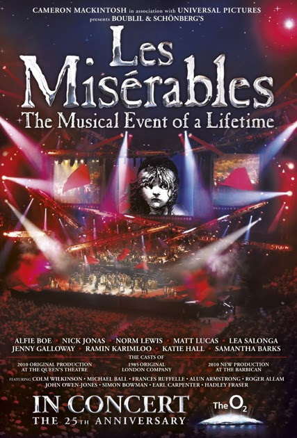 concert review les mis Find helpful customer reviews and review ratings for les miserables: the dream cast in concert [import] at amazoncom read honest and unbiased product reviews from our users.