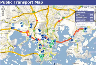 helsinki transport map