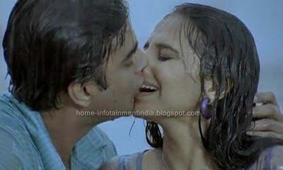 Kissed Vidya Balan