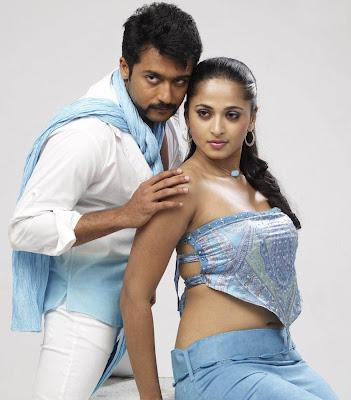 Anushka and Suriya Singam Movie Still
