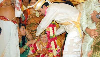South Indian Actress Rambha Wedding photos