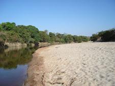 Rio Pardinho local ideal para passar o final de semana.