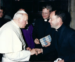 Pope John Paul II and Fr. Scott