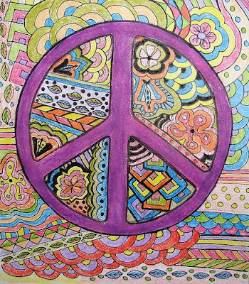 Magical Mystery Tour Peace Sign Art Images